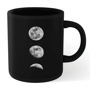The Motivated Type 3 Moons Mug - Black