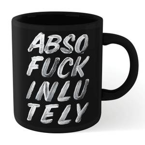 The Motivated Type Absofuckinlutely Mug - Black