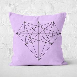 The Motivated Type Diamond Square Cushion