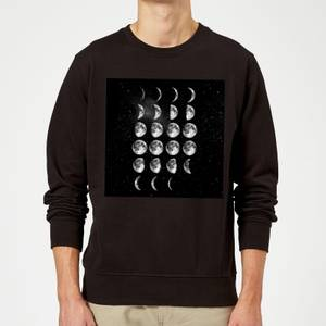 The Motivated Type Moon Cycle Sweatshirt - Black