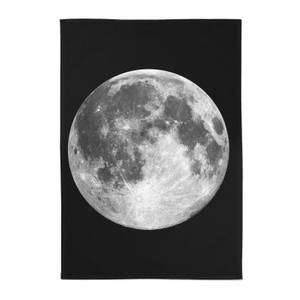 The Motivated Type Moon Cotton Tea Towel - Black
