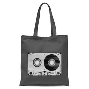 The Motivated Type Tape Tote Bag - Grey