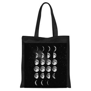 The Motivated Type Moon Cycle Tote Bag - Black