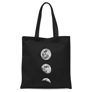 The Motivated Type 3 Moon Series Tote Bag - Black