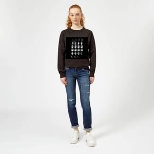 The Motivated Type Moon Cycle Women's Sweatshirt - Black