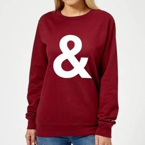 The Motivated Type & Women's Sweatshirt - Burgundy