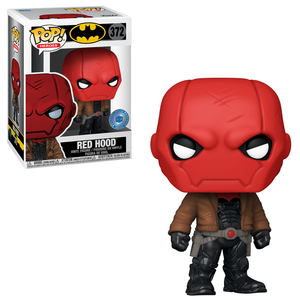 Figura Funko Pop! Exclusivo PIAB - Red Hood - DC Comics