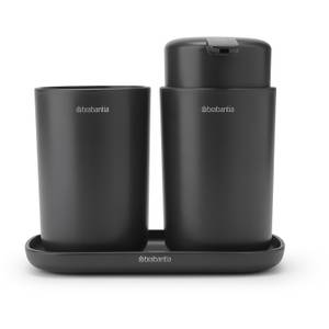 Brabantia Bathroom Accessories - Dark Grey (Set of 3)