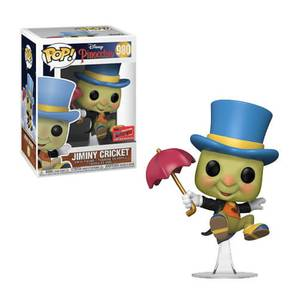NYCC 2020 Disney Jiminy Cricket EXC Pop! Vinyl Figure