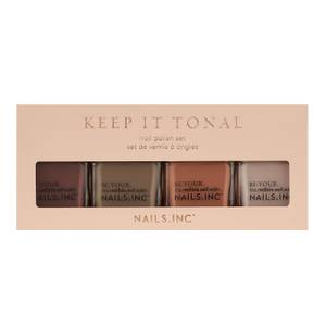 nails inc. Keep it Tonal Nail Polish Set 4 x 14ml