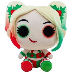 DC Holiday Holly Quinn with Mallet Funko Plush