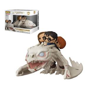 Harry Potter Drago con Harry, Ron & Hermione Funko Pop! Ride