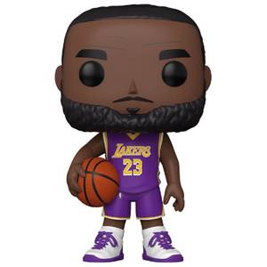 NBA LeBron James (Lila Jersey) 10-Inch Funko Pop! Vinyl