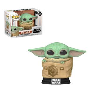 Star Wars The Mandalorian The Child (Baby Yoda) mit Tasche Funko Pop! Vinyl Figur