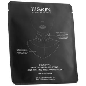111SKIN Celestial Black Diamond Lifting and Firming Mask Neck Single 43ml