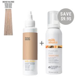 milk_shake Conditioning Direct Hair Colour Kit - Beige Blonde