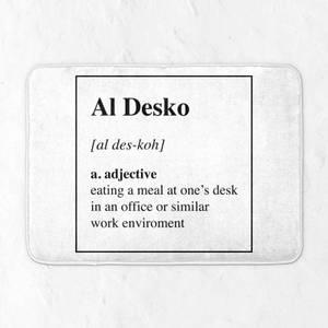 Al Desko Definition Bath Mat