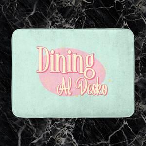 Dining Al Desko Diner Bath Mat
