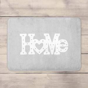 Home Typographic Bath Mat