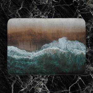 Moody Ocean Bath Mat