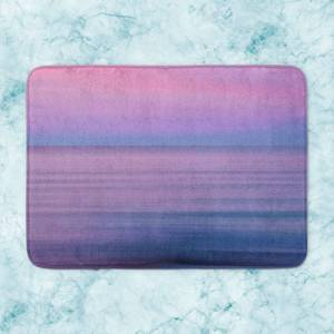 Sunset Purple Tones Bath Mat