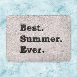 Best Summer Ever. Bath Mat