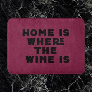 Home Is Where The Wine Is Bath Mat