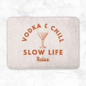 Vodka And Chill Bath Mat