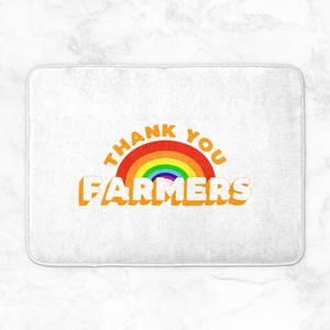 Thank You Farmers Bath Mat