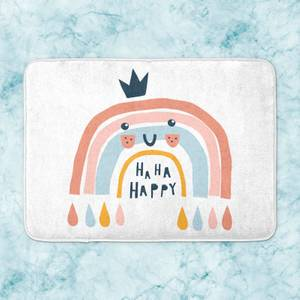 Ha Ha Happy Bath Mat