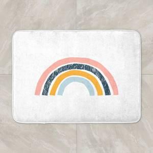 Textured Rainbow Bath Mat