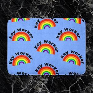 Key Worker Rainbow Bath Mat