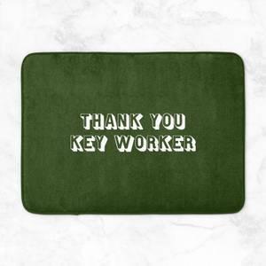 Thank You Key Worker Bath Mat
