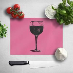 Red Wine Chopping Board