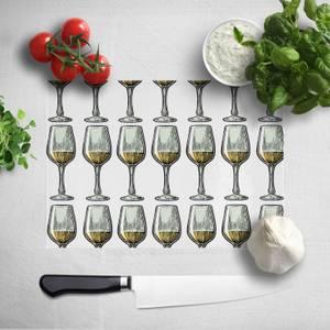 White Wine Chopping Board