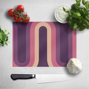 Purple Groove Chopping Board