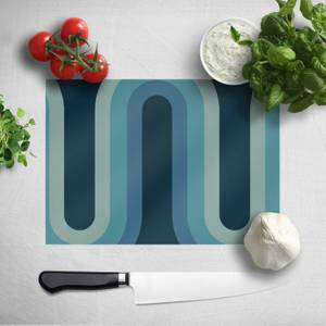 Blue Groove Chopping Board
