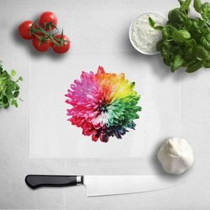 Fluro Flower Chopping Board