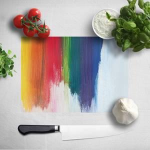 Rainbow Smudge Chopping Board