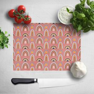 Rainbow Pink Chopping Board