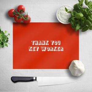 Thank You Key Worker Chopping Board