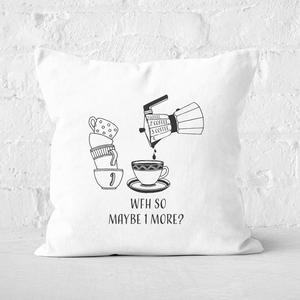 1 Coffee, 2 Coffee, 3 Coffee, 4. Square Cushion