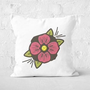 Summer Flower Square Cushion