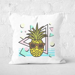Summer Pineapple Square Cushion