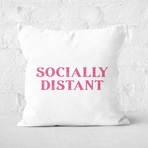 Socially Distant Square Cushion