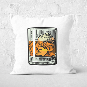 Whisky Square Cushion