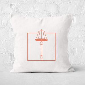 Lampshade Square Cushion