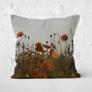 Summer Flowers Square Cushion