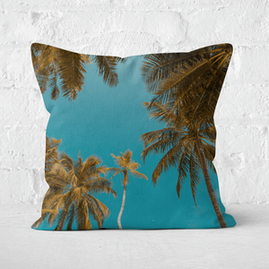 Palm Trees Square Cushion