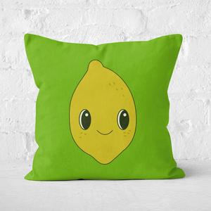 Cute Lemon Square Cushion